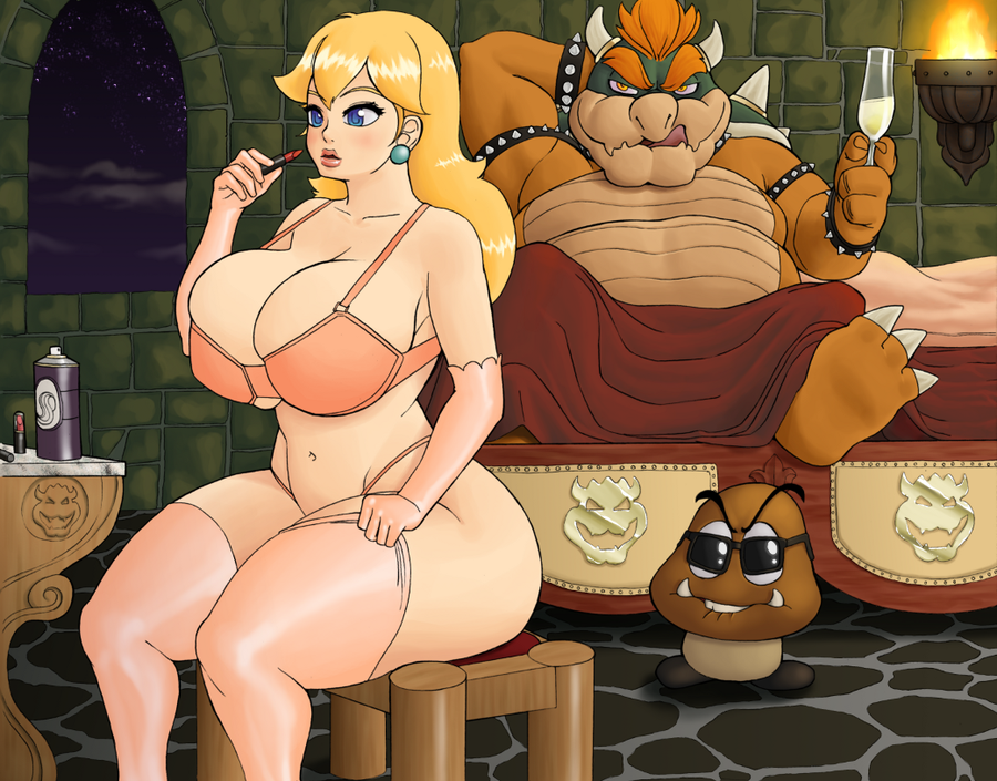 bed in and bowser peach Double d and marie kanker