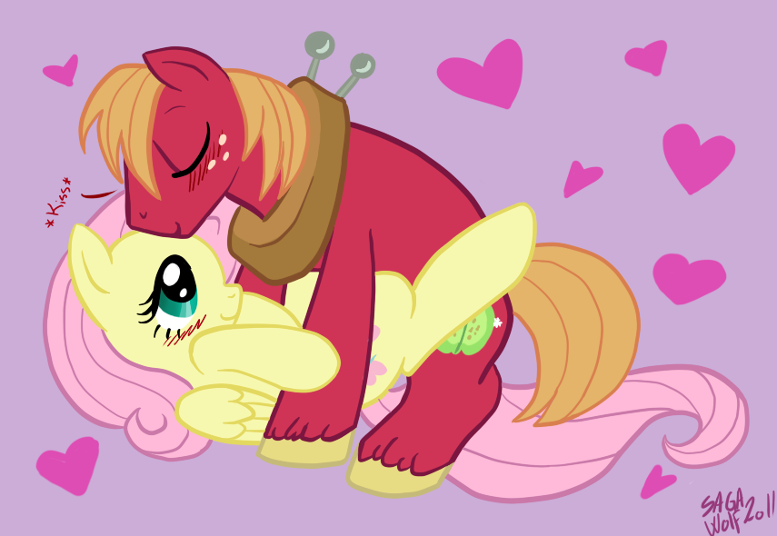 mac and big fluttershy mlp Gay anal penetration close up