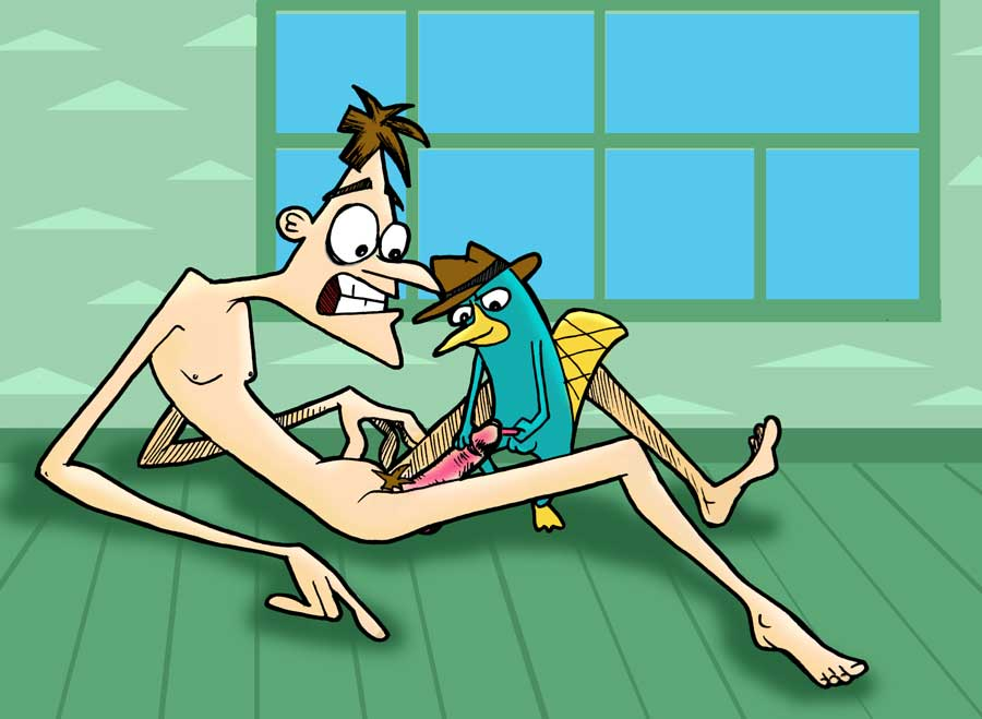 ferb sex and phineas gay Queen of the black puddle
