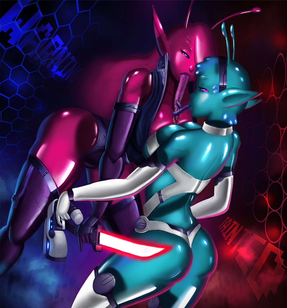 space tainted trials in fisianna Rainbow mika street fighter v